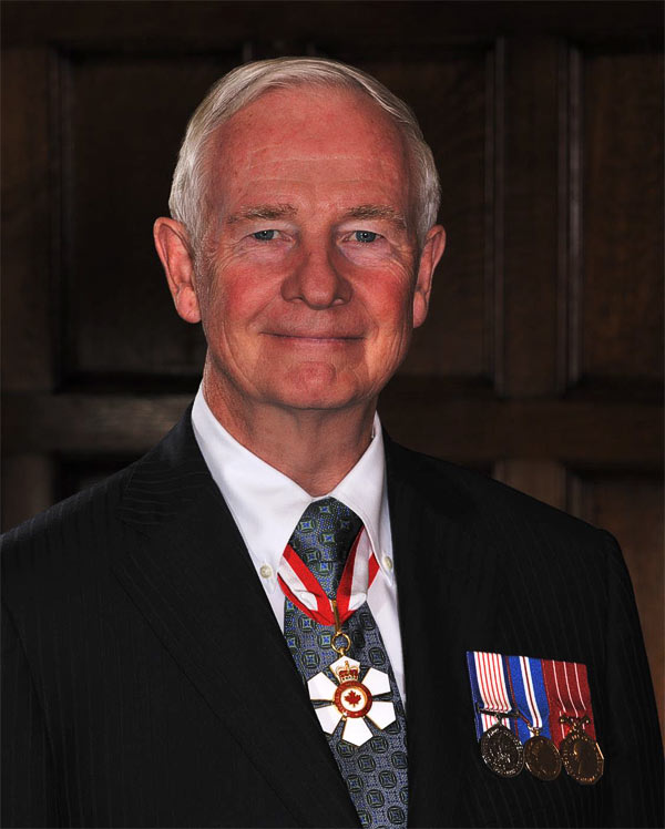 His Excellency the Right Honourable David Johnston, The Governor General of Canada